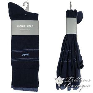 Michael Kors Combed Cotton Socks 3 Pairs OS